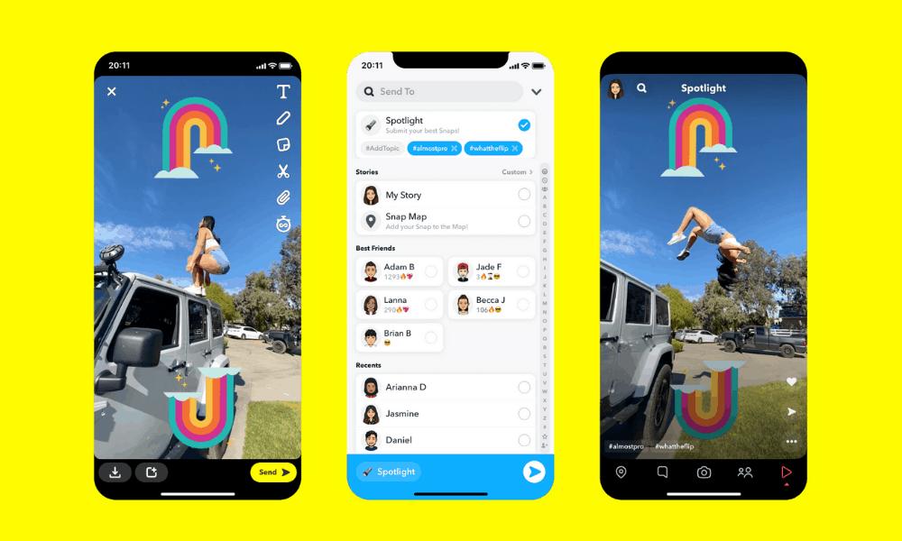 Guide publicitaire sur Snapchat