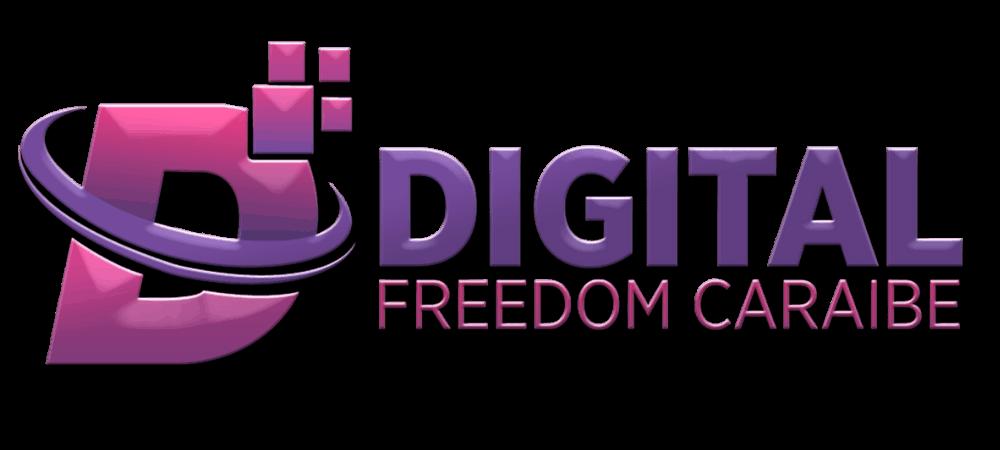 Logo de Digital Freedom Caraibe et de la CTM Martinique